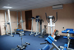 Gym in the hotel Fantasy